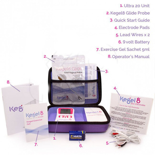 Kegel8 Ultra 20 Electronic Pelvic Toner in the bag