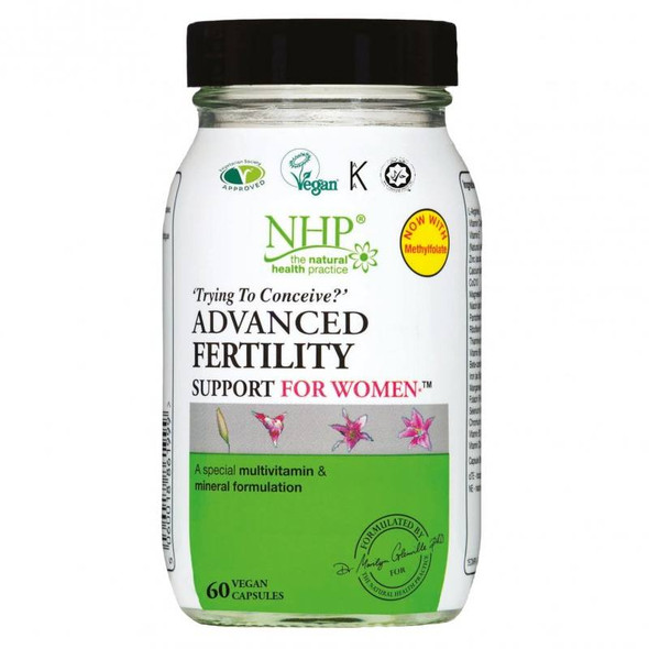 NHP Advanced Fertility Support For Women (60 Caps)
