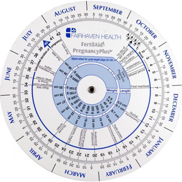 Pregnancy & Ovulation Calendar Wheel