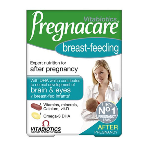Vitabiotics Pregnacare Breast-Feeding Supplement