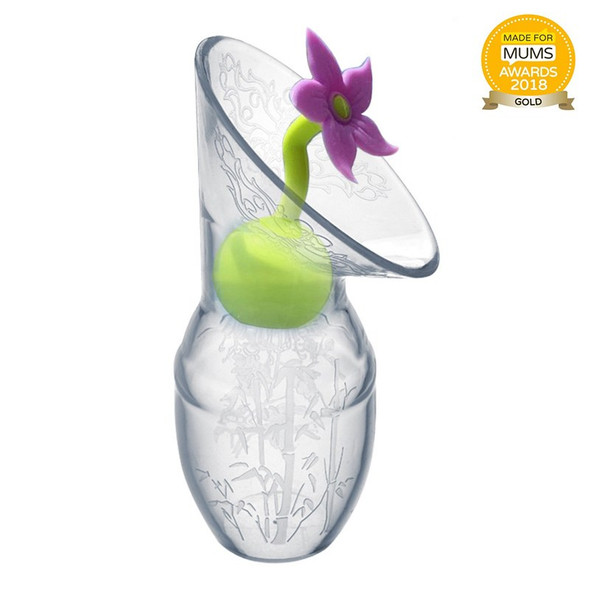 Haakaa Silicone Breast Pump Flower Stopper with award