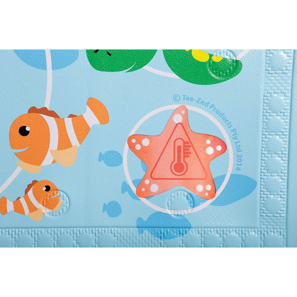 Dreambaby® Watch-Your-Step® Anti-Slip Bath Mat With material