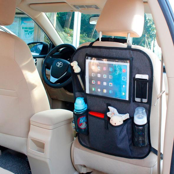 Babydan Tablet Back Seat Organiser on car