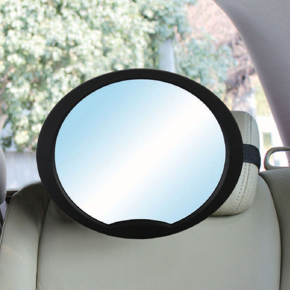 Babydan Adjustable Rear Seat Wide Angled Mirror up close