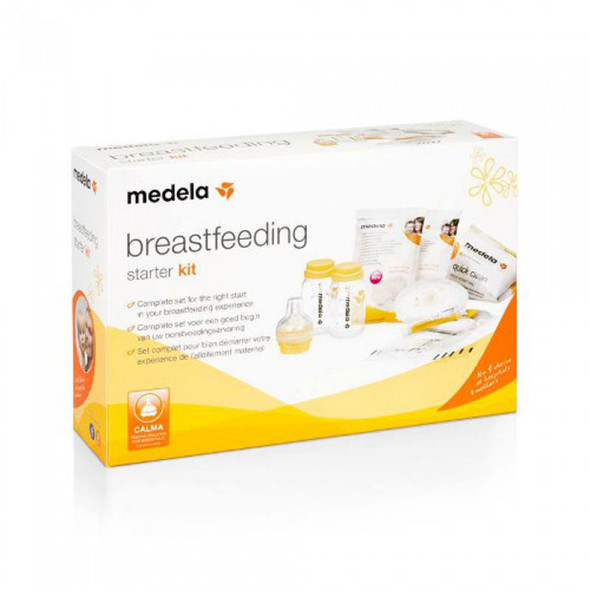 Medela Breastfeeding Starter Kit box