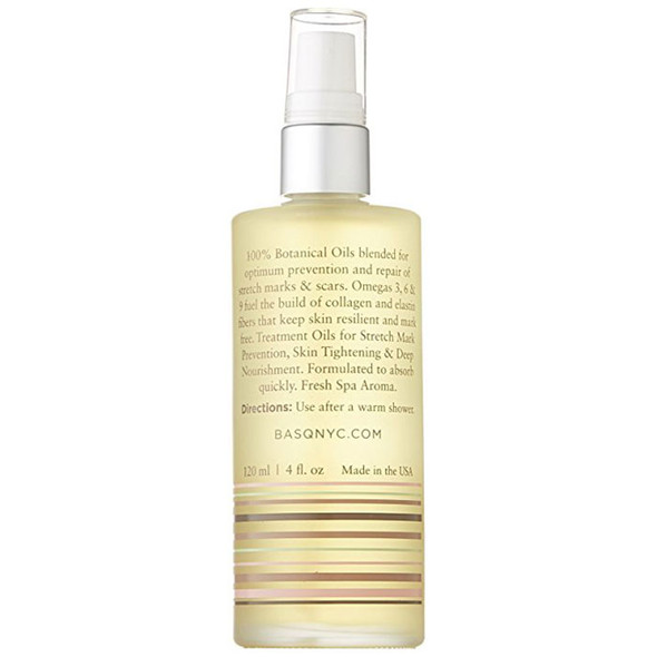Basq Resilient Body Stretch Mark Oil - Citrus back