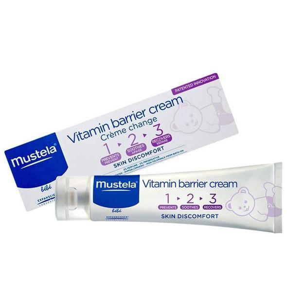 Mustela Baby 1 2 3 Vitamin Barrier Cream 50ml