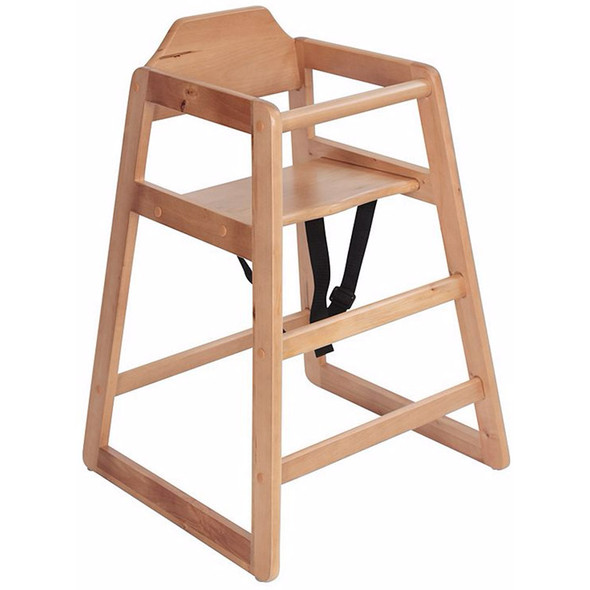 Safetots Simple Stackable High Chair side view
