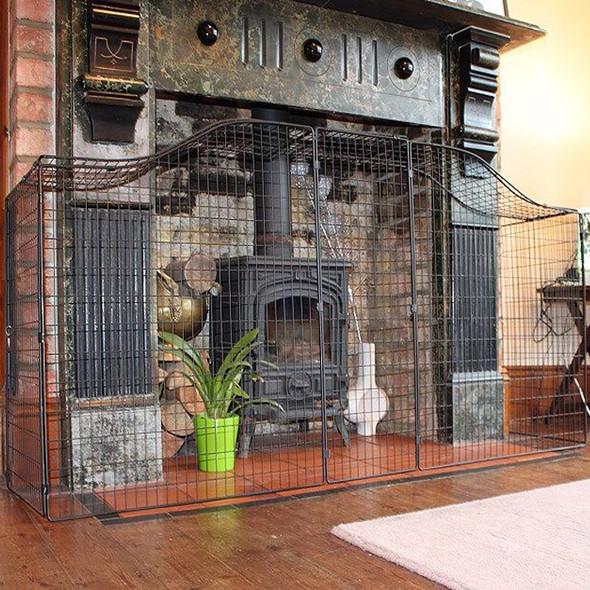 Safetots Designer Fire Guard full view