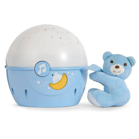 Chicco Next2Stars Baby Night Light Projector blue