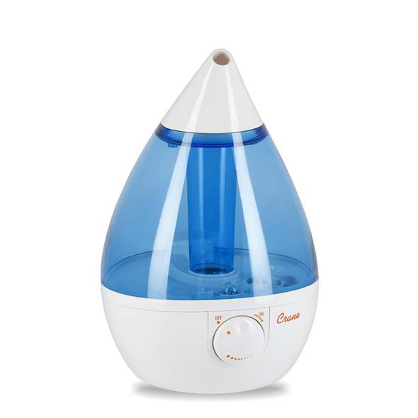 Crane Drop Cool Mist Humidifier - Blue