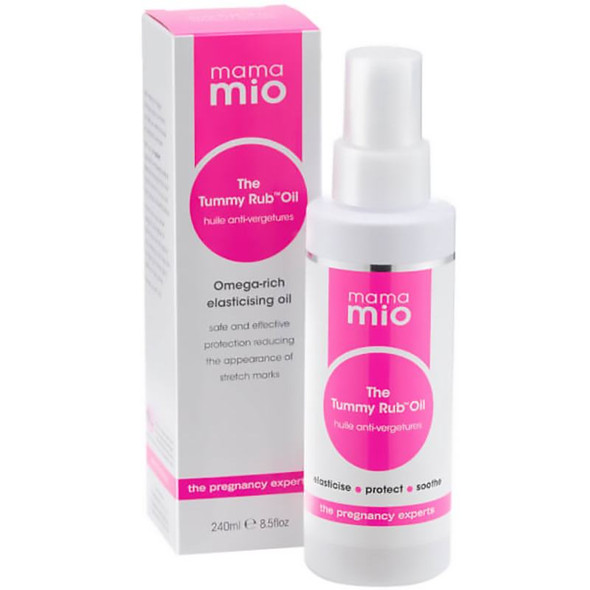 Mama Mio The Tummy Rub Oil Supersize 240ml with box