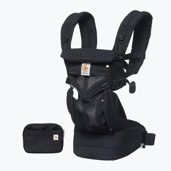 Ergobaby Omni 360 Cool Air Mesh From Newborn - Onyx Black product