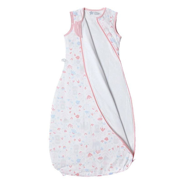Grobag Floral Sleep Bag 1.0 Tog open
