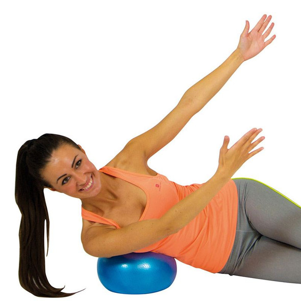 Wellfit Soft Gym Overball Red demonstration1