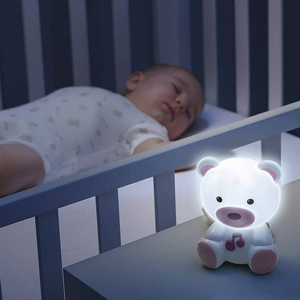 Chicco Dream Light Bear - Pink live