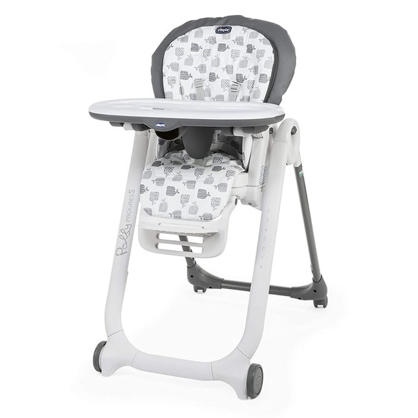 Chicco Polly Progres5 Highchair Grey