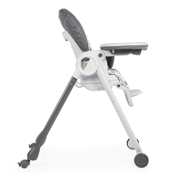 Chicco Polly Progres5 Highchair Grey side