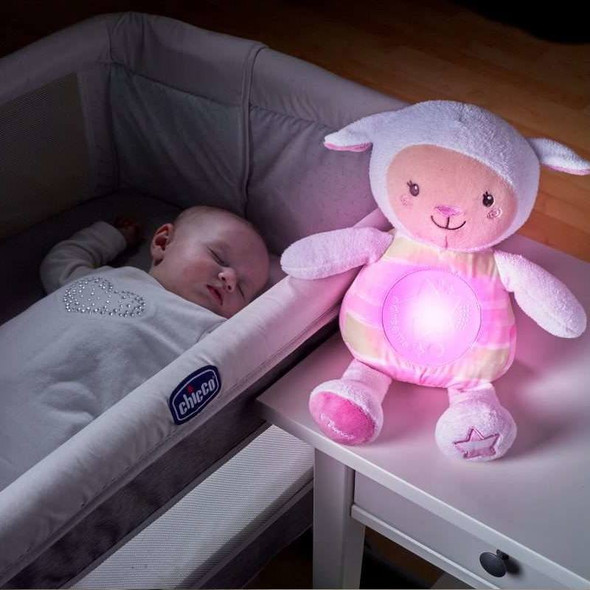 Chicco First Dreams Lullaby Sheep - Pink live