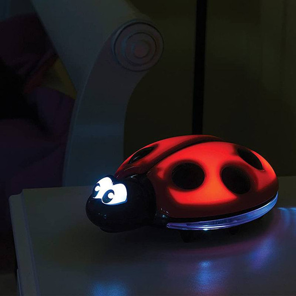 Dreambaby Ladybug Night Light (Battery Operated) light on