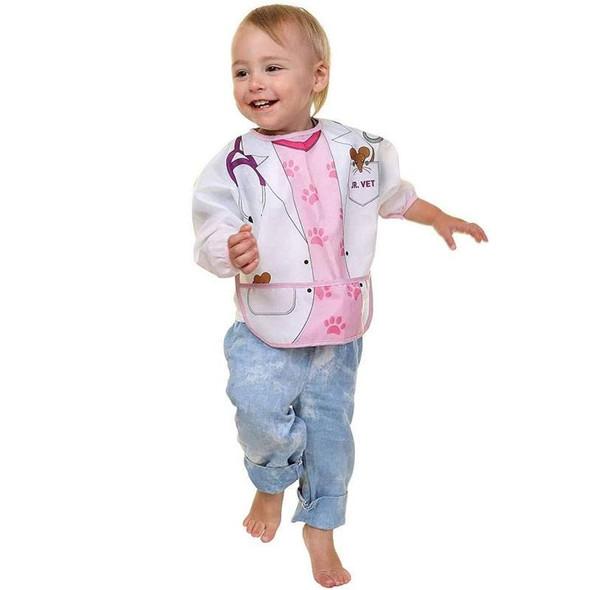 Dreambaby Bib / Smocks With Sleeves - Doctor & Vet 2Pk Vet Live