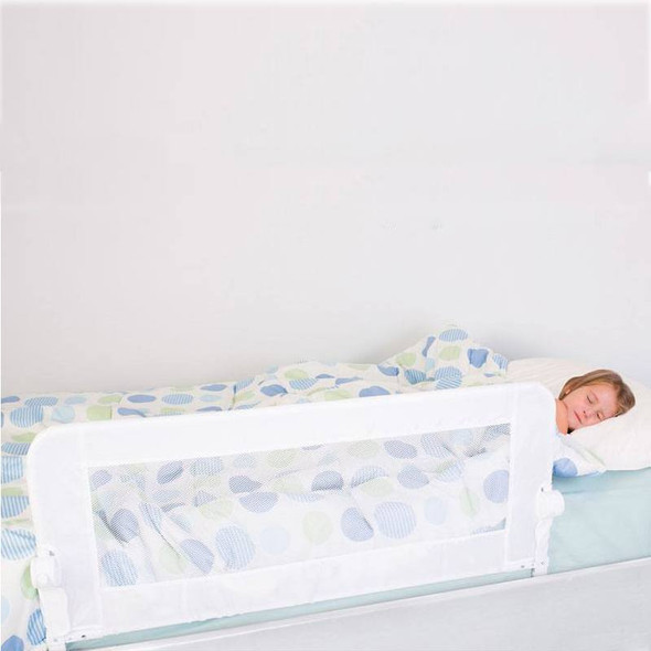 Dreambaby Maggie Bedrail - White (Fits Recessed, Flat & Slat Beds)