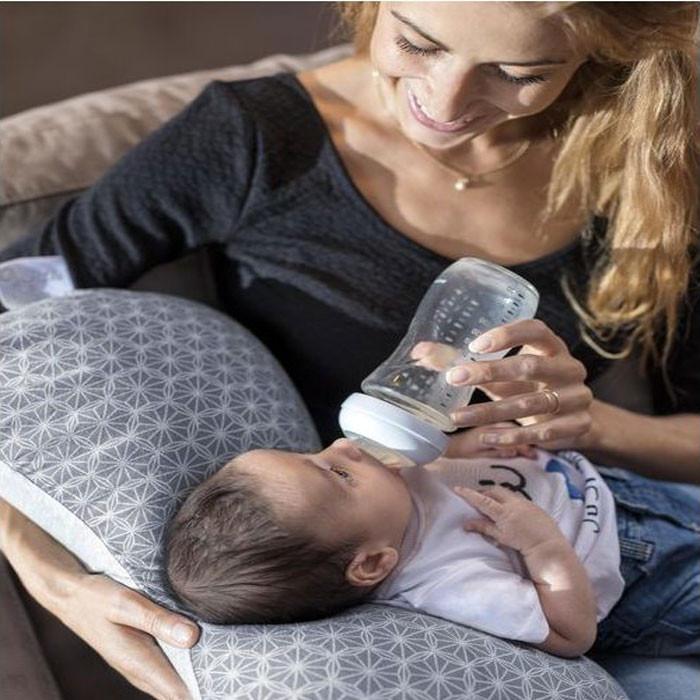 596c4710b8e9 ... Babymoov Mum & B - Ergonomic Maternity Cushion - Dotwork Grey