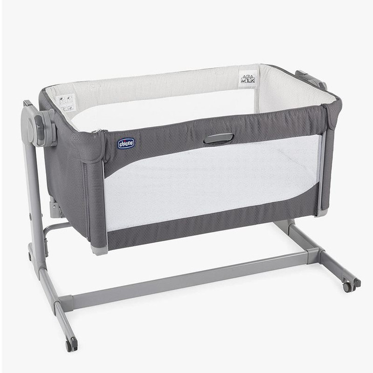 Chicco Next2Me Magic Side Sleeping Crib Moon Grey