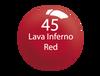 SNS Powder Color 1 oz - #045 LAVA INFERNO RED