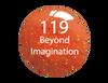 SNS Powder Color 1 oz - #119 BEYOND IMAGINATION