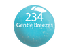 SNS Powder Color 1 oz - #234 GENTLE BREEZES