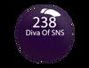 SNS Powder Color 1 oz - #238 DIVA OF SNS