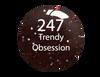 SNS Powder Color 1 oz - #247 TRENDY OBSESSION