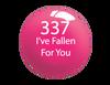 SNS Powder Color 1 oz - #337 I'VE FALLEN FOR YOU