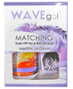 WaveGel Matching S/O Gel & Nail Lacquer - W155 MAIDEN OF GRAPE .5 oz