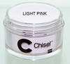 Chisel 2in1 Acrylic & Dipping 2 oz - Pink & White - LIGHT PINK