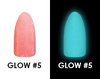 Chisel 2in1 Acrylic & Dipping 2 oz - GLOW #5 - Glow in the Dark Collection