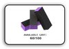 Buffer Block 3 Way - Purple/Black -  60/100 Grit (Pack/20 pcs)