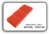 Mini Buffer 2 Way - Orange/White - 80/100 Grit (Pack/30 pcs)