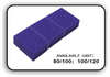 Mini Buffer 2 Way - Purple/White - 80/100 Grit (Pack/30 pcs)