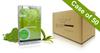 Voesh Case/50pks - Pedi in a Box - 4 Step Deluxe - Green Tea (VPC208GRT)