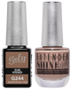 Gel II + Matching Extended Shine Polish - G244 & ES244 - SUN KISSED