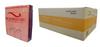 Bio Seaweed Gel - DMA Disposable Mini Buffer - Orange Purple 80/100 Grit - Case/800pc