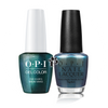 OPI Duo - GCH74A + NLH74 - THIS COLOR'S MAKING WAVES .5 oz