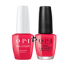 OPI Duo - GCL20 + NLL20 - WE SEAFOOD AND EAT IT - Lisbon Collection .5 oz
