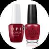 OPI Duo - GCL87A + NLL87 - MALAGA WINE .5 oz