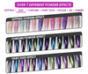 WAVE GALAXY 3 in 1 - COMBO SET (GEL+ LACQUER+ POWDER) - #1 Medium Orchid