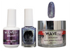 WAVE GALAXY 3 in 1 - COMBO SET (GEL+ LACQUER+ POWDER) - #2 Gray Passage