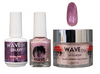 WAVE GALAXY 3 in 1 - COMBO SET (GEL+ LACQUER+ POWDER) - #4 Raging Pink