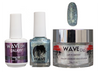 WAVE GALAXY 3 in 1 - COMBO SET (GEL+ LACQUER+ POWDER) - #6 Pewter